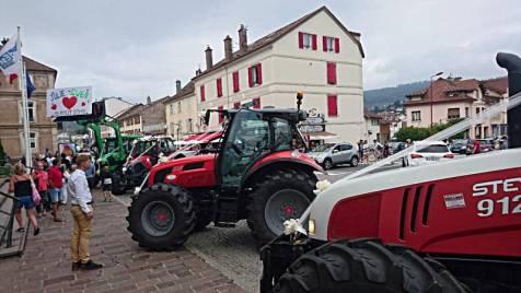 mariage julie et gwen tracteurs