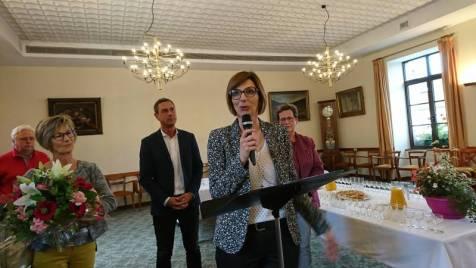 Stéphanie Michel-Aubel, nouvelle inspectrice de la circonscription.