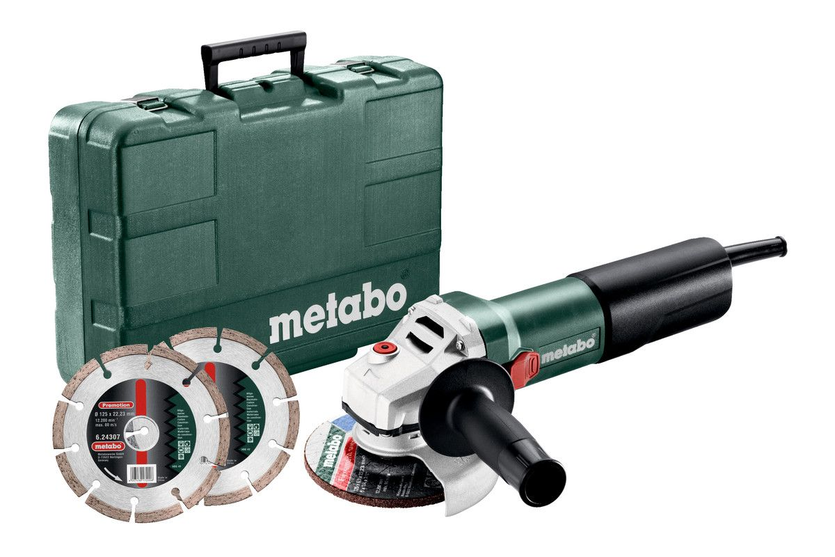 Grote Haakse Slijper Metabo We19180 Quick Rt 180mm 1900w Haakse Slijper 601088000