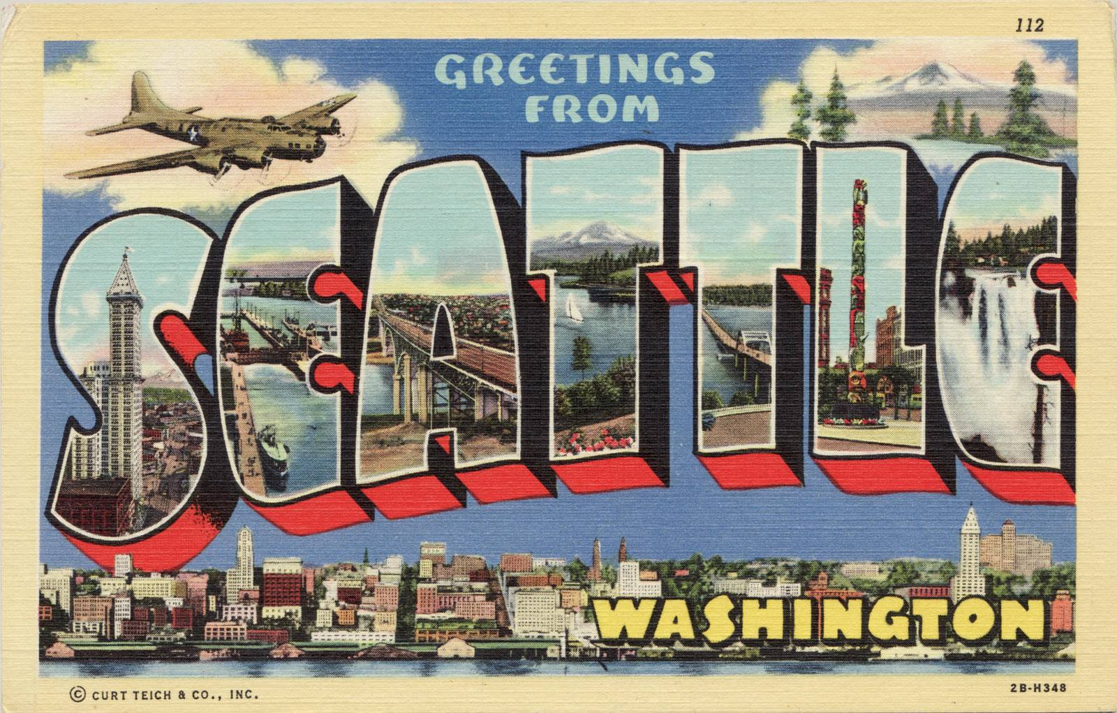 Greetings from Seattle