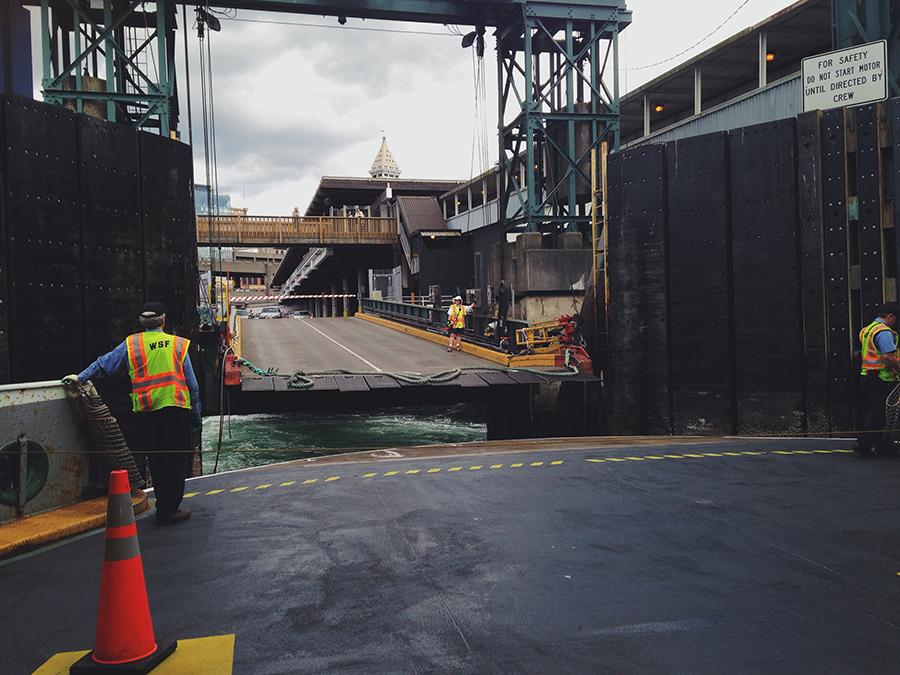 docking ship