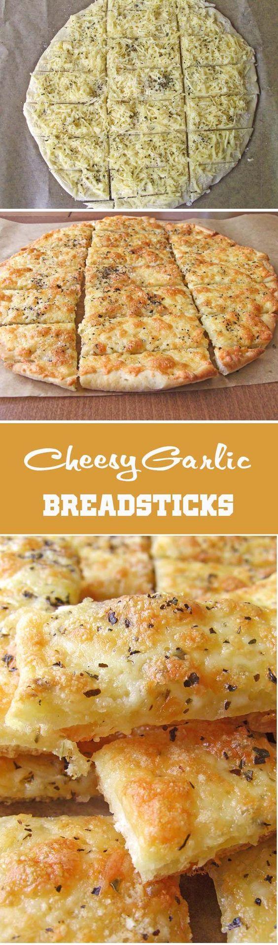 http://sugarapron.com/2014/08/03/easy-cheesy-garlic-breadsticks/
