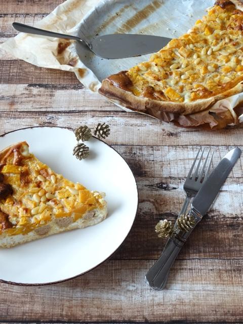 Recept van de maand #15: Pompoenquiche met feta en kippengehakt