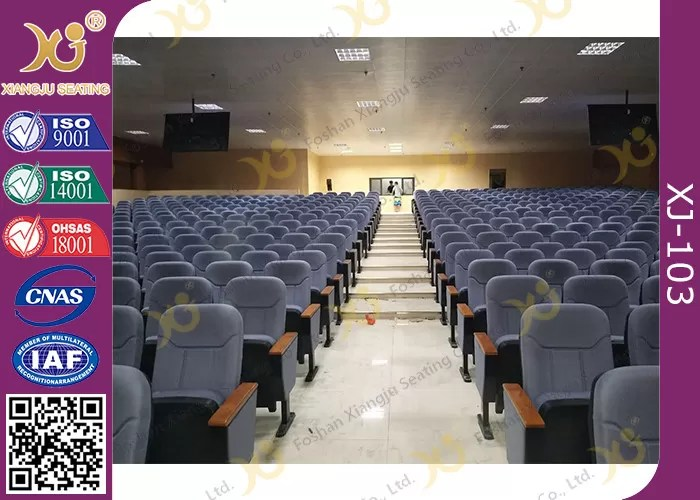 Polsterung Kaltgewalzte Stahlschemel Publikums Sitzplatz