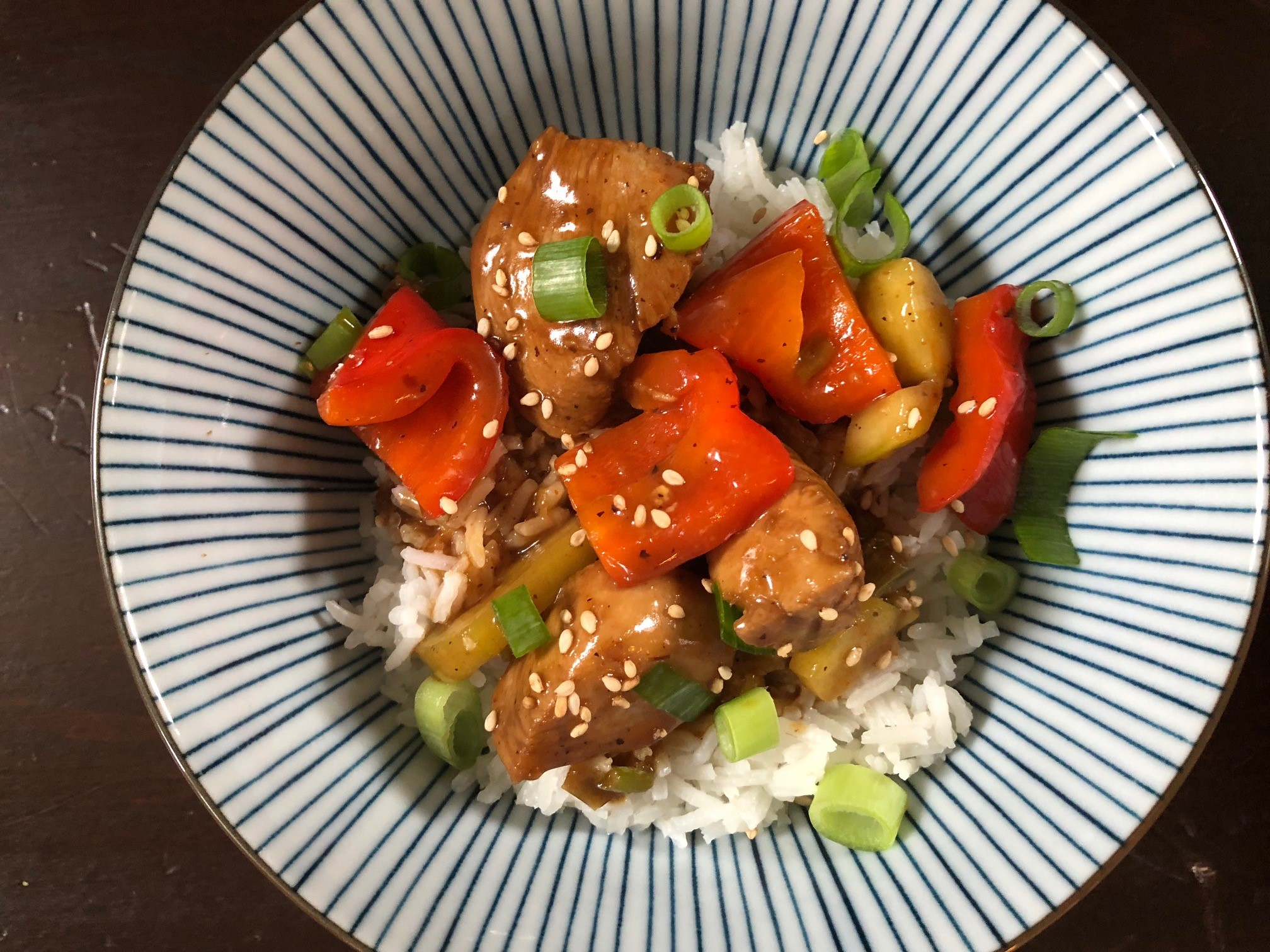 Eine Ode An Hop Sing Sticky Orange Chicken Germanabendbrot