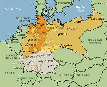 Economic and Political Trends in Germany Toward Unification \u2013 German