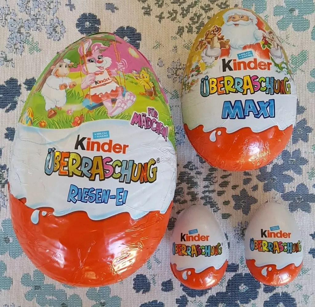 Kinder Egg Illegal German Kinder Eggs The Delicious Chocolate Eggs With A Toy