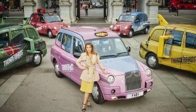 Thunderbirds Taxis are Go in London