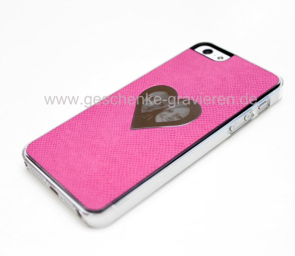 Iphone 5 Cover Selbst Gestalten Iphone Hülle In Pink Mit Individueller Gravur Www