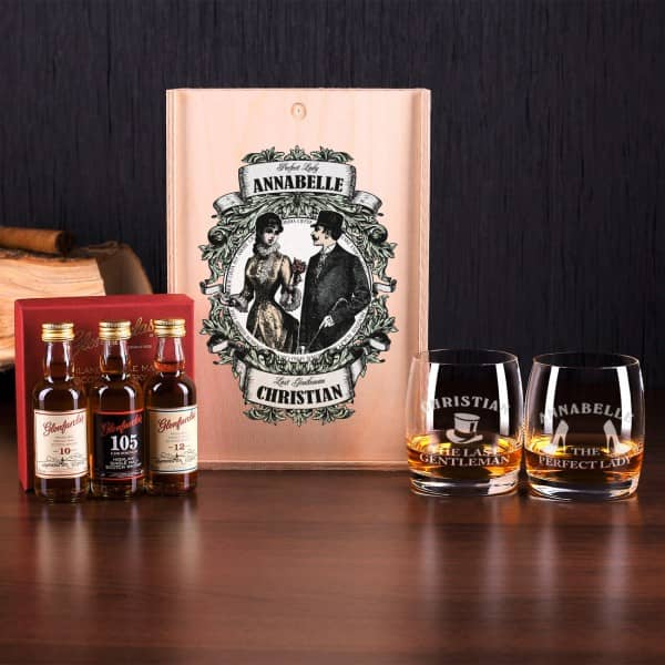 Whiskygläser Set Glenfarclas Single Malt Scotch Whisky Variationen Und 2