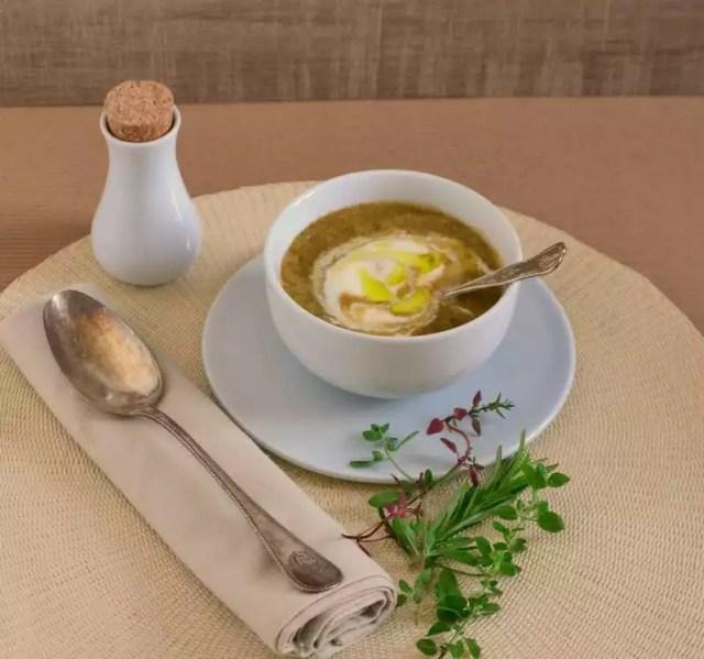 kalte Gemüse Suppe