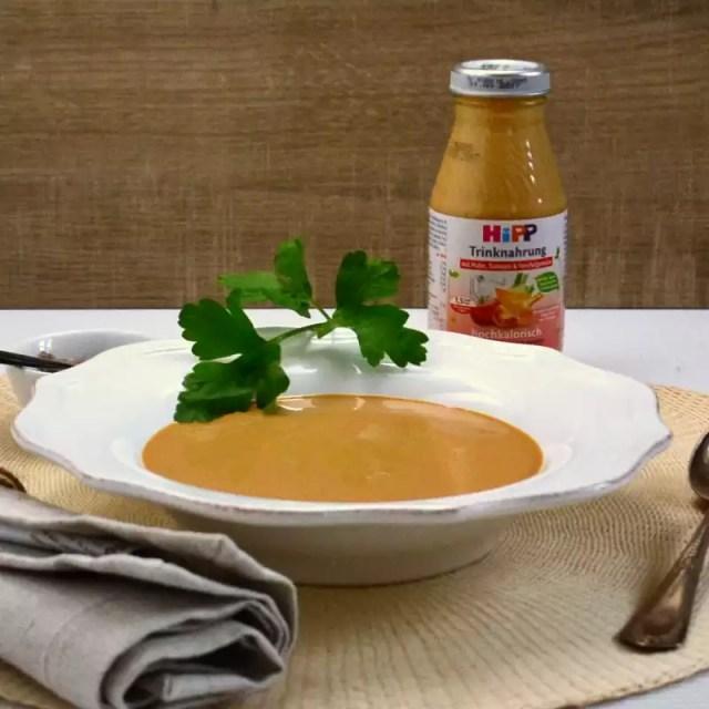 hochkalorische Trinknahrung von HIPP in der Geschmacksrichtung Huhn und Karotte