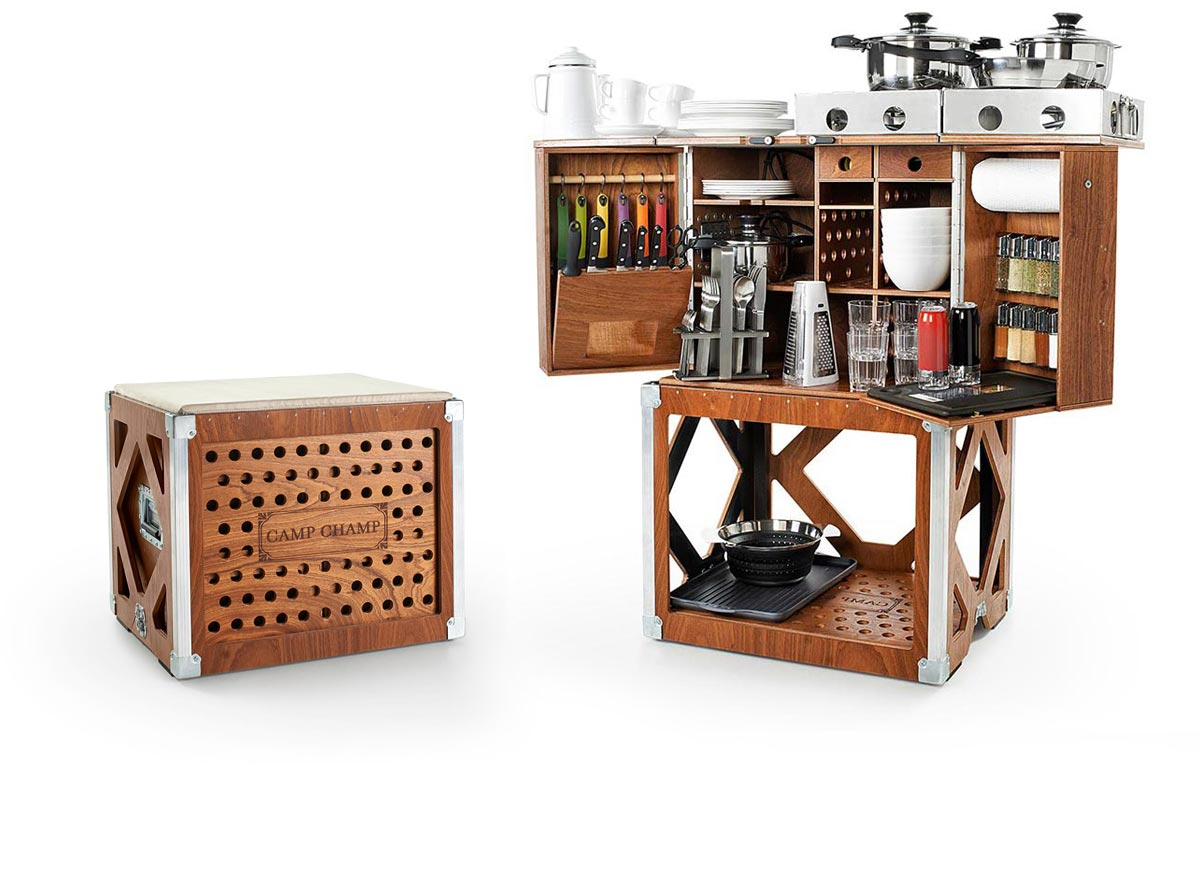 Outdoor Küche Transportabel Camp Champ Portable Camping Kitchen
