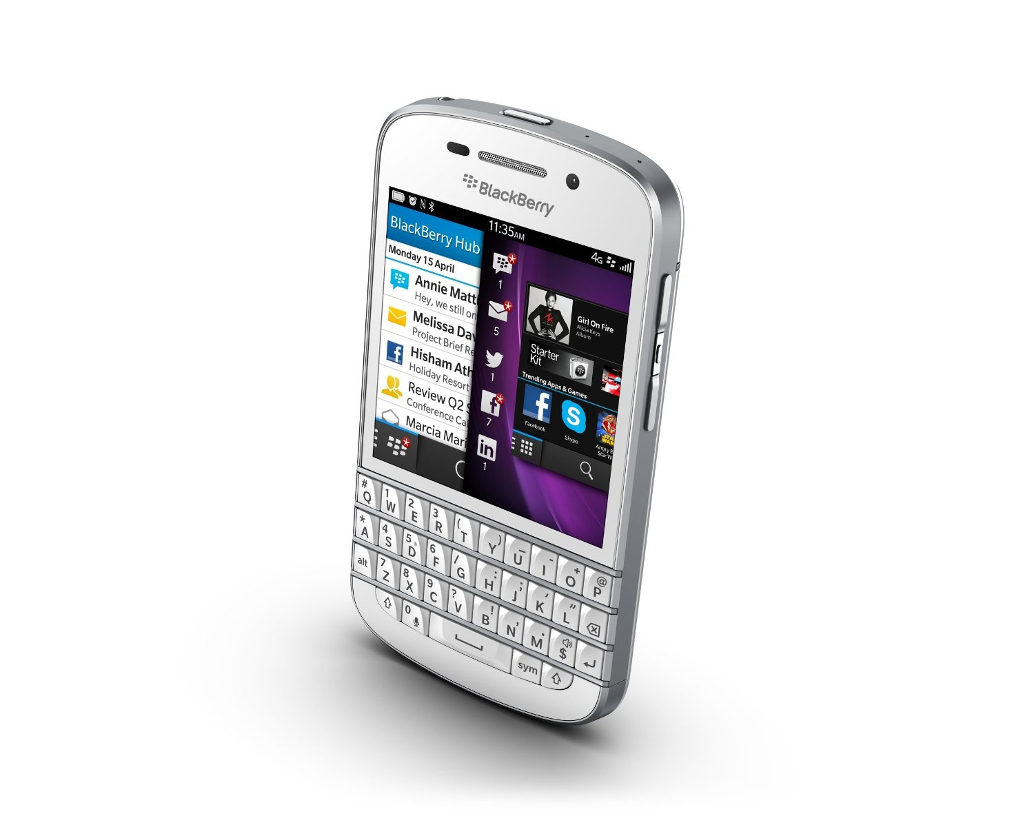Blackberry Q10 Libre Blackberry Q10 16gb Qwerty Comprar En Phonesupermarket