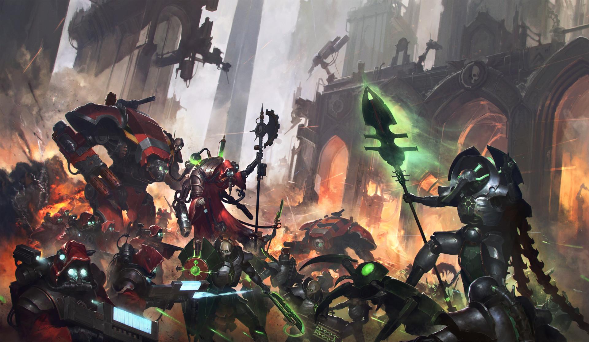 Total War Warhammer Wallpaper Hd Wallpaper 000 1920x1115 Px Adeptus Mechanicus Necrons