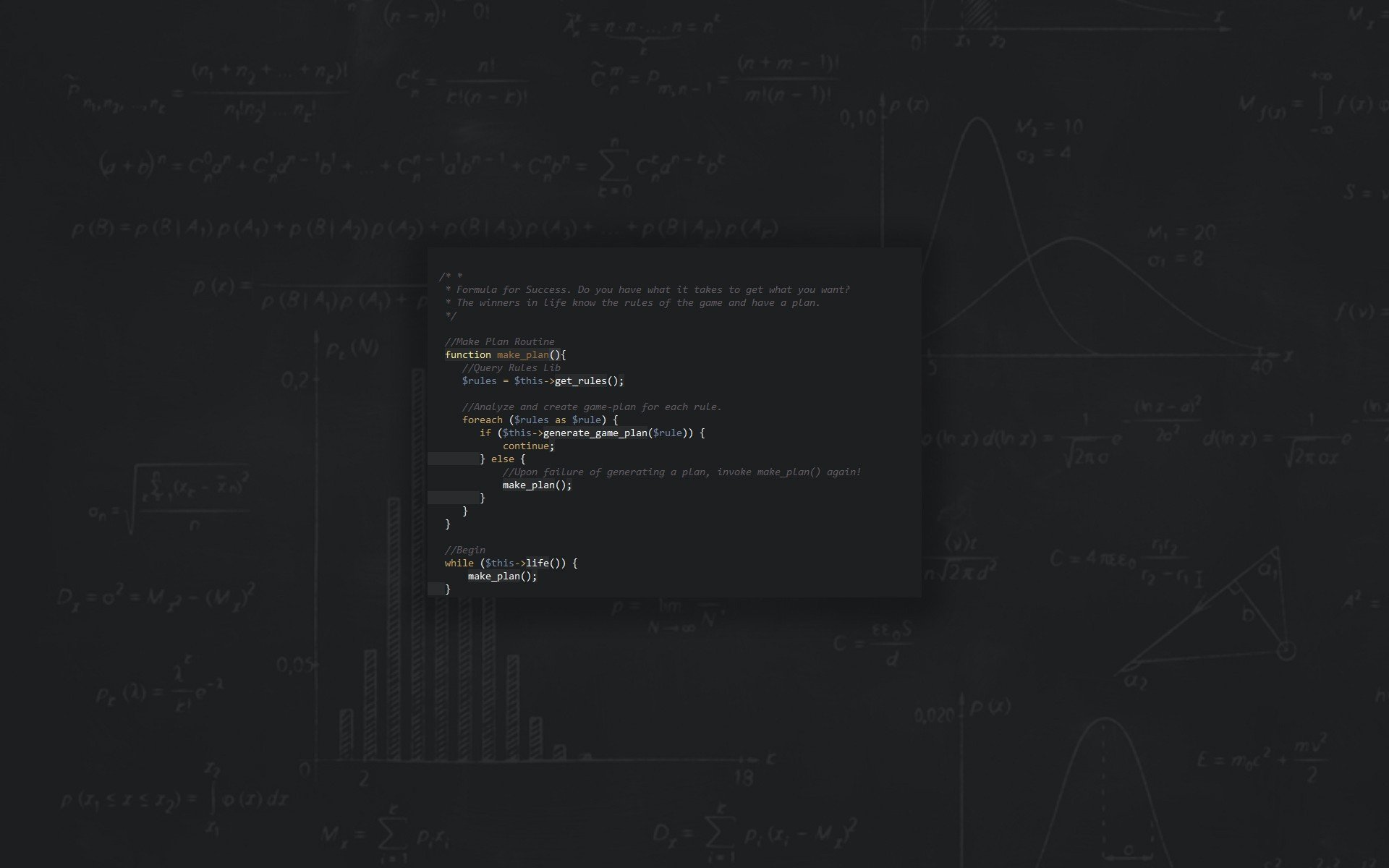 Php Wallpaper Hd Wallpaper 1920x1200 Px Life Php Programming Success