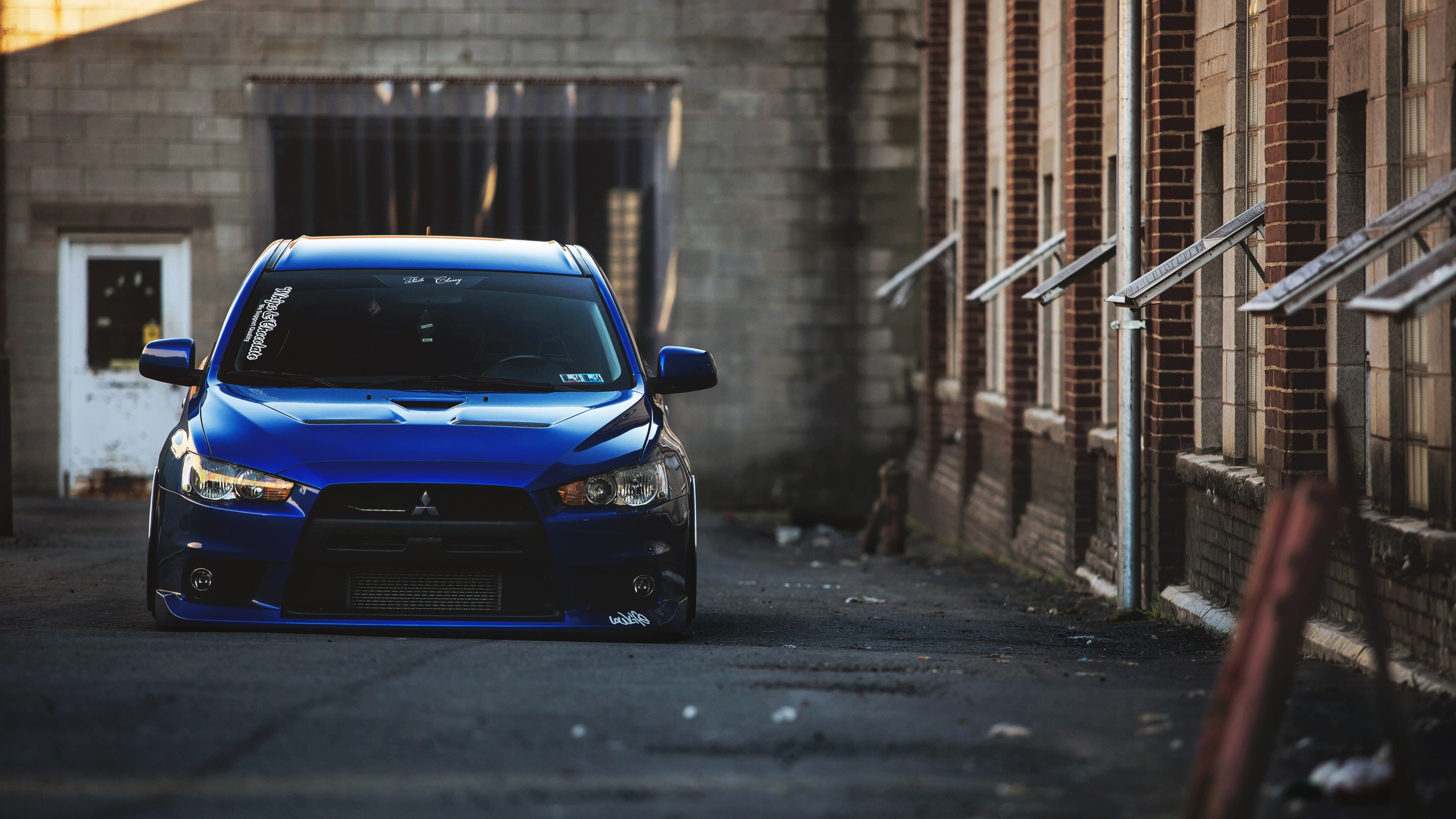Evo 10 Wallpaper Wallpaper 2560x1440 Px Blue Cars Car Evo Mitsubishi Lancer