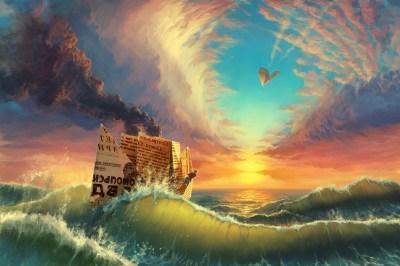 Wallpaper : 6000x4000 px, clouds, colorful, contrails, digital art, landscape, nature, paper ...