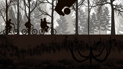 Wallpaper : Stranger Things, Netflix, TV, bicycle, 4k 3840x2160 - BussianRanana - 1200875 - HD ...
