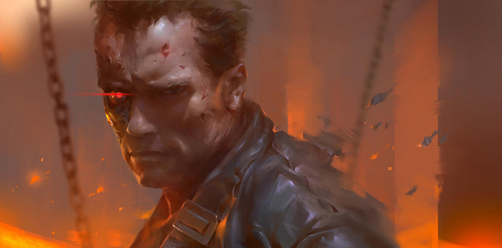 Ios Animated Wallpaper Wallpaper Terminator 2 T 800 Cyborg Arnold