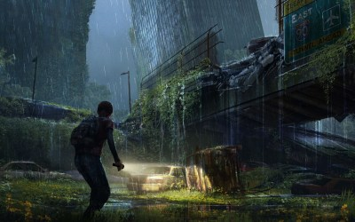 Wallpaper : The Last of Us, apocalypse, girl, city, night 2880x1800 - CoolWallpapers - 1009369 ...
