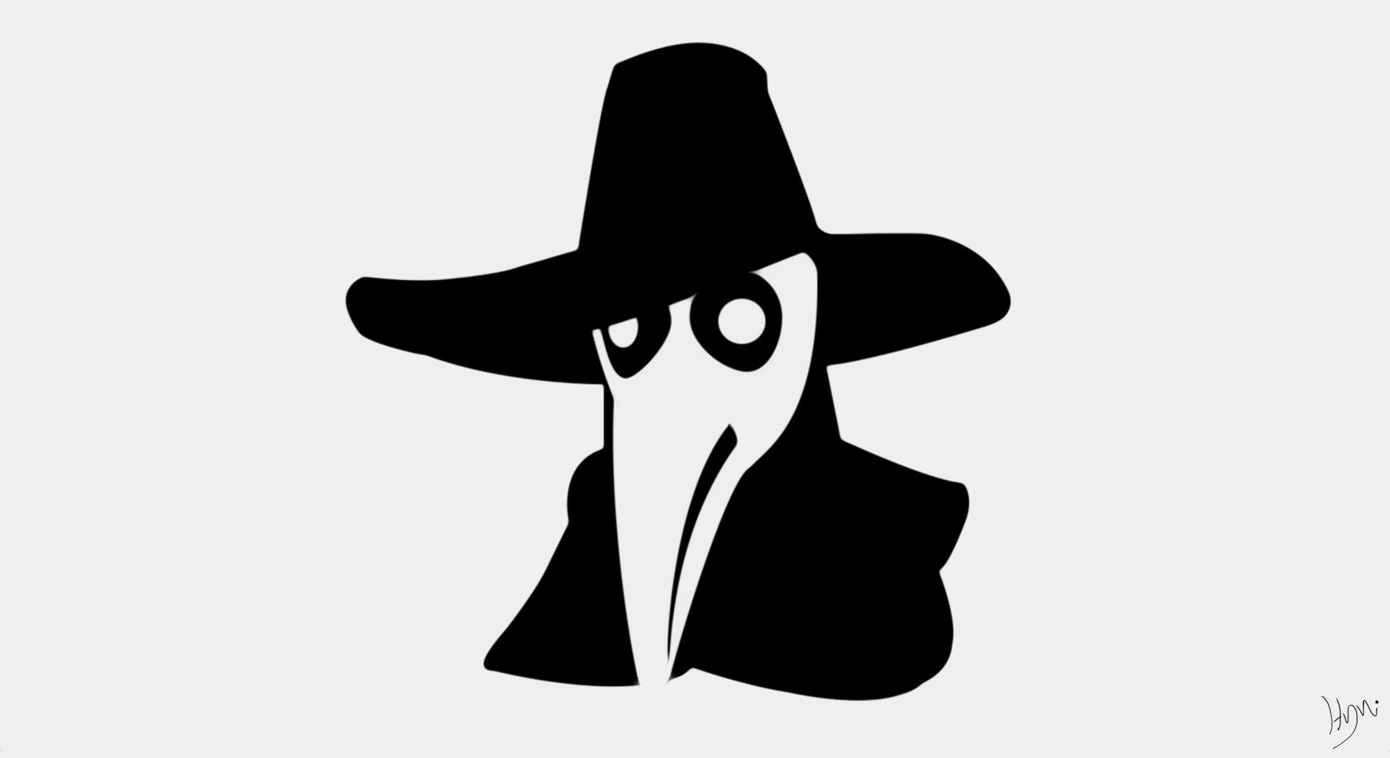 Moustache Wallpaper Hd Wallpaper Black Illustration Dark Silhouette Logo