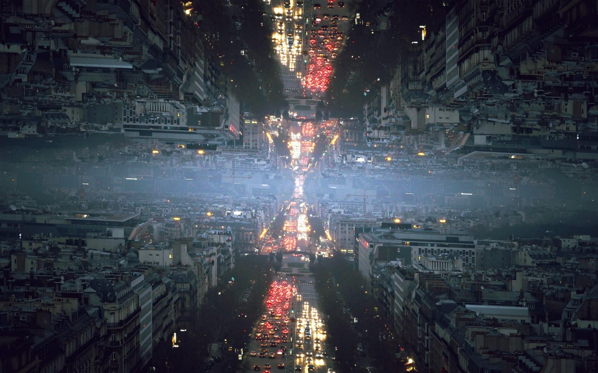 Sad Girl Wallpaper Hd New Wallpaper City Cityscape Night Reflection Road