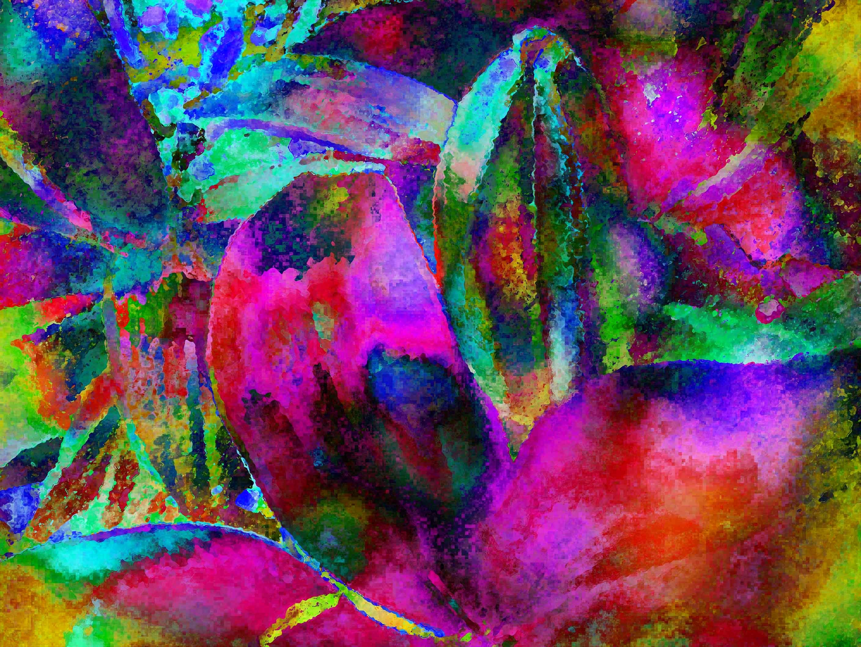 60+ 4K UHD Wallpaper Colorful Paint Notion