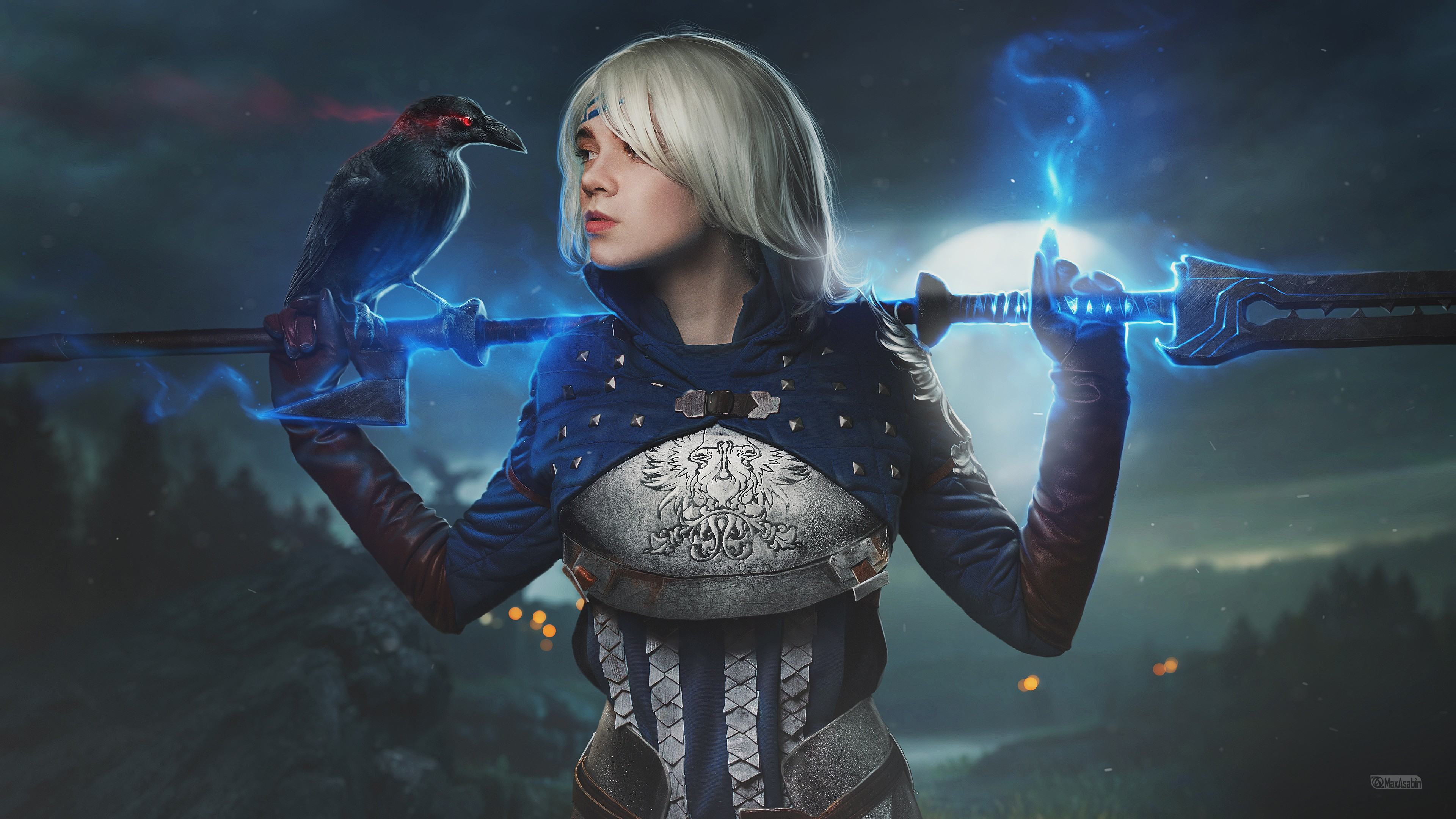 Hd Wallpapers Wallpaper Cosplay Anime Dragon Age Grey Warden