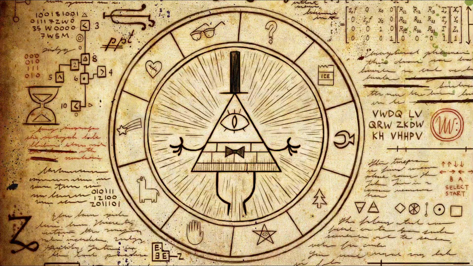 Gravity Falls Wallpaper Hd Android Wallpaper Drawing Illuminati Pentagram Gravity Falls
