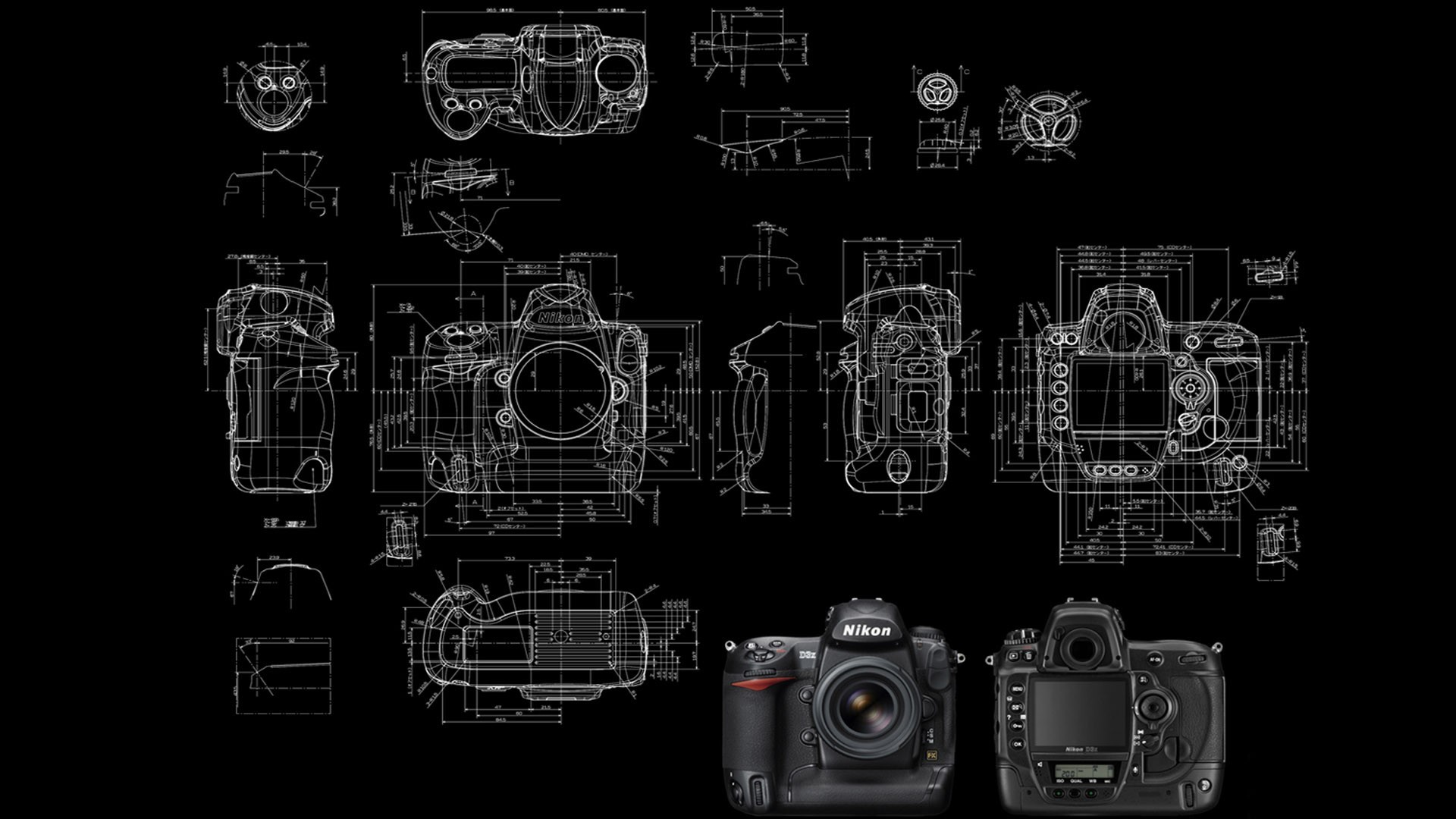 Motherboard Wallpaper 3d Wallpaper Drawing Illustration Camera Nikon Brand