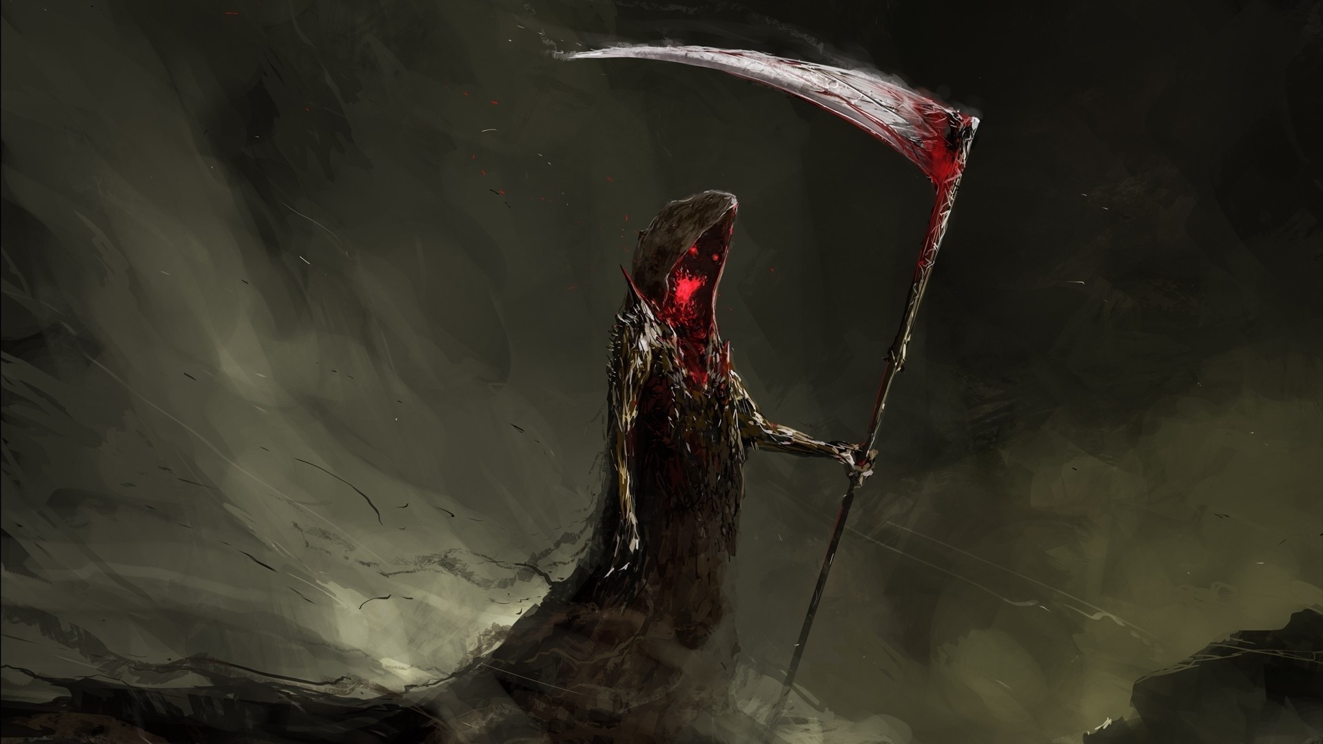 Dark Blood Wallpaper Wallpaper Drawing Painting Digital Art Fantasy Art Dark Red