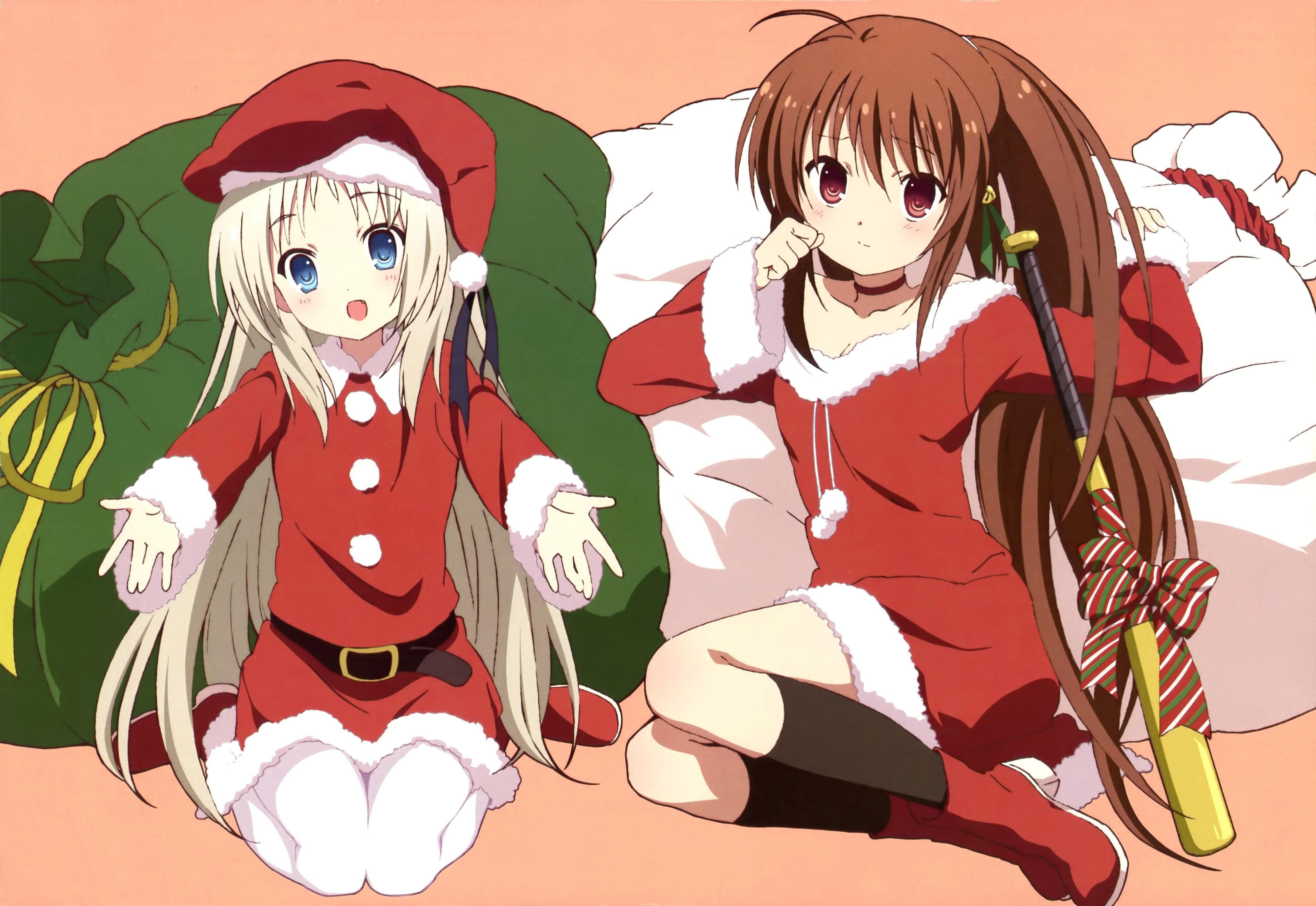 Little Girl Wallpaper 800x1280 Wallpaper Illustration Anime Girls Cartoon Christmas