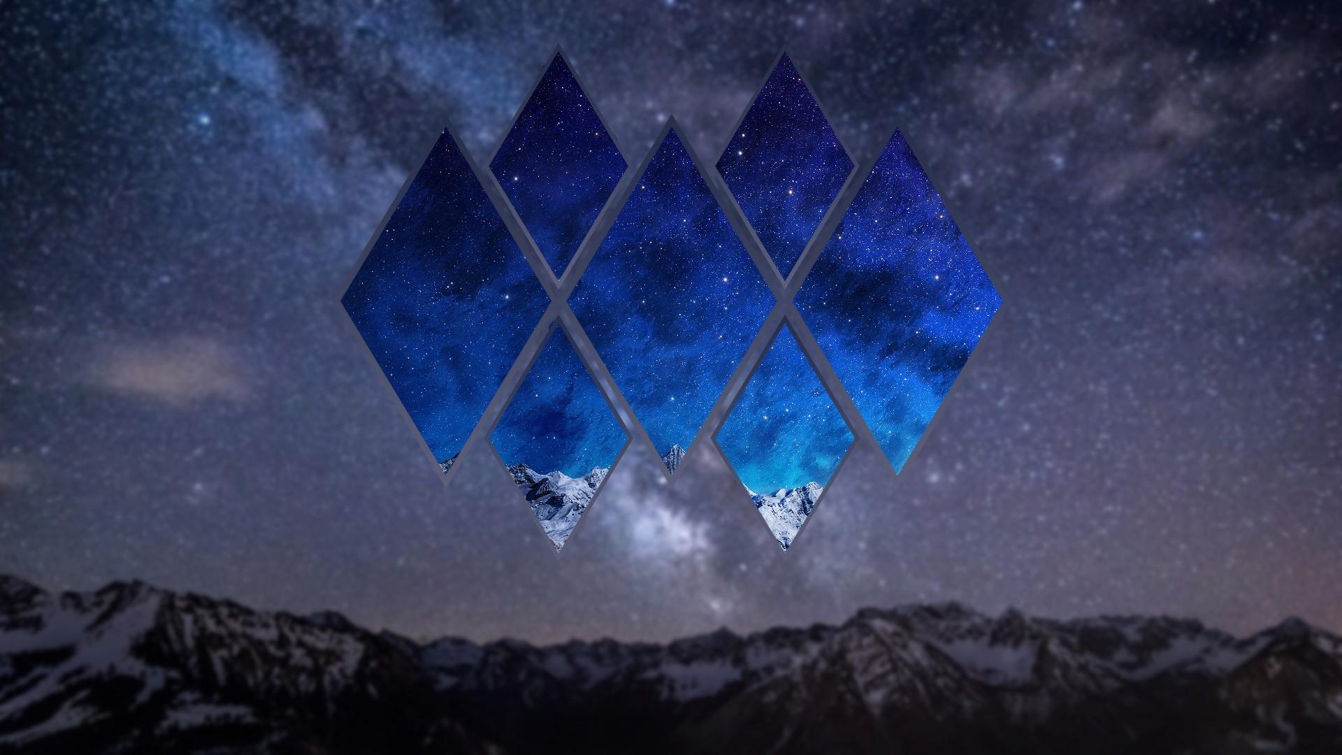 Astronomy Wallpaper Hd Fondos De Pantalla Paisaje Monta 241 As Noche Galaxia