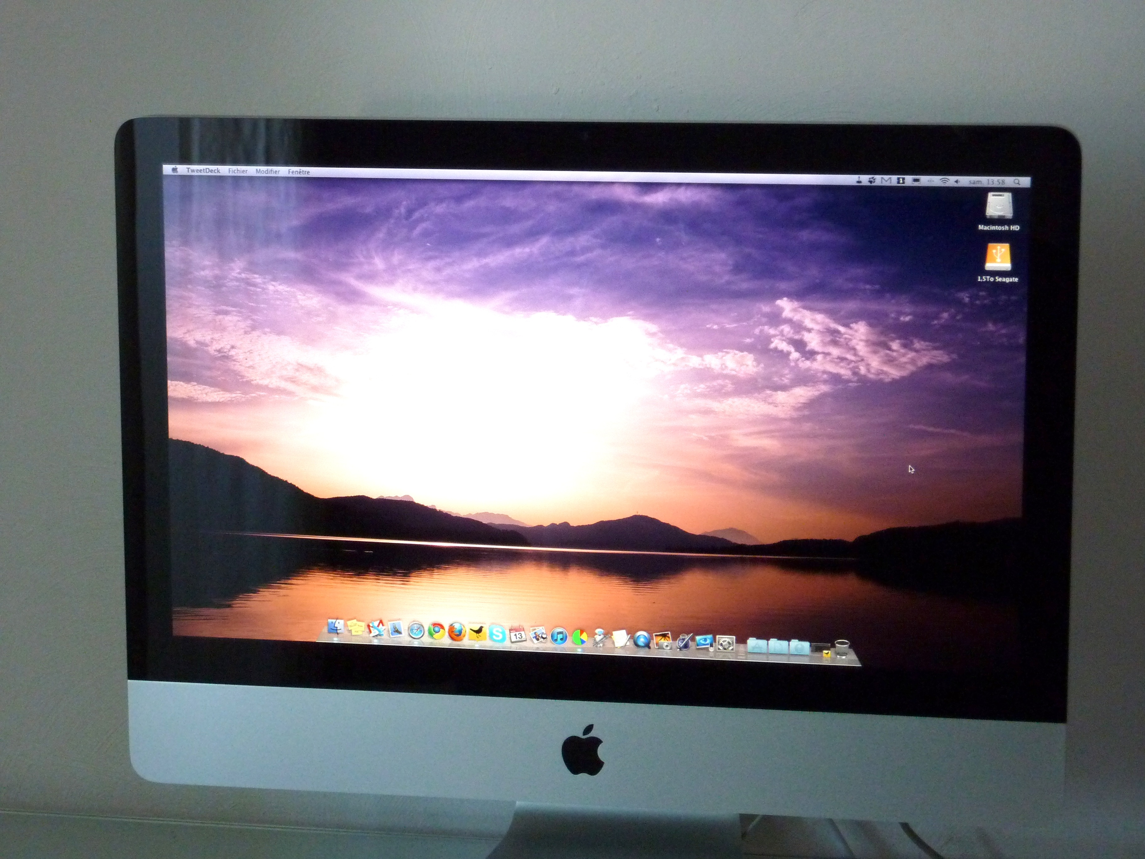 Imac Ordinateur Wallpaper Magic Technology Imac Apple Mouse Screen Mac