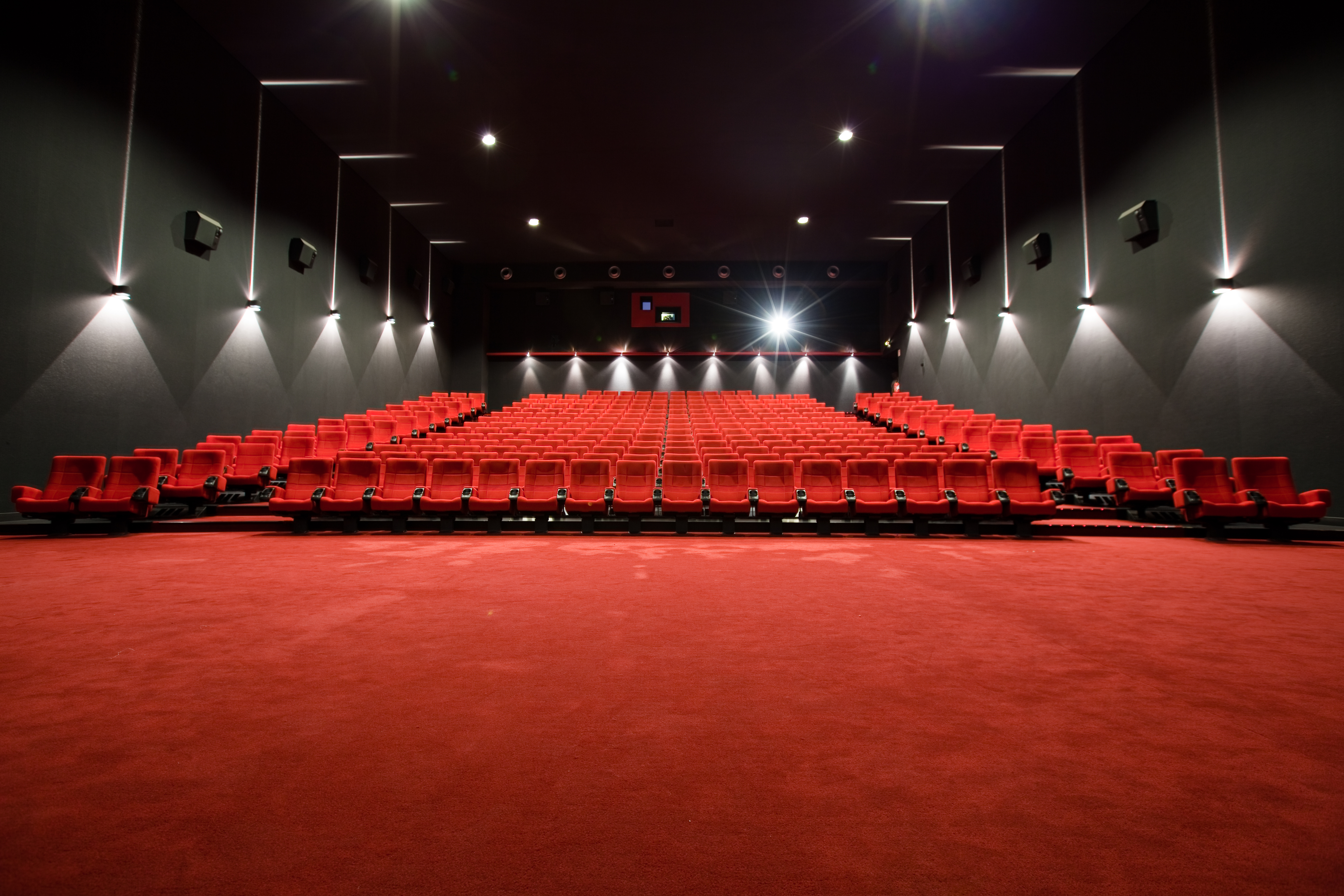 Entertainment Sessel Wallpaper Room Red Movies Path Audience Structure