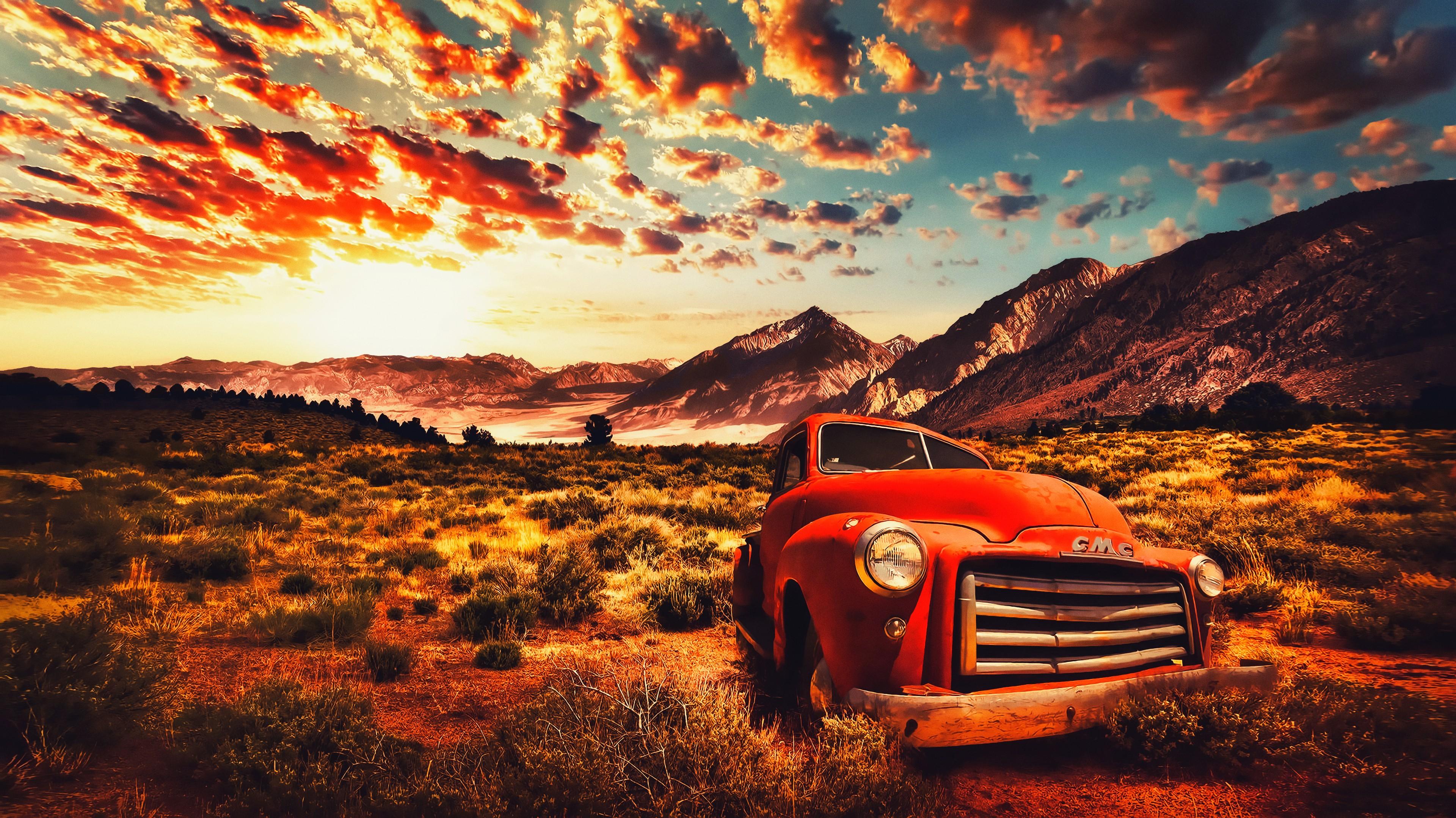 Fall Thanksgiving Desktop Wallpaper デスクトップ壁紙 日光 風景 日没 空 道路 日の出 イブニング 朝 砂漠 カリフォルニア