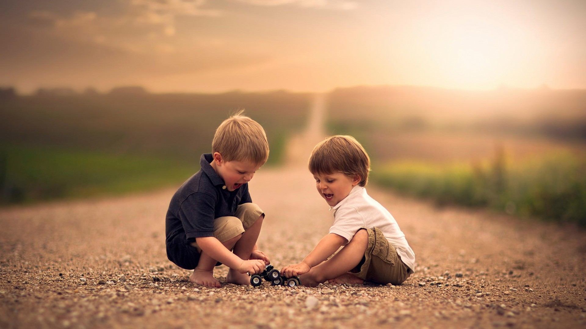 Boy And Girl Hug Wallpapers Wallpaper Sunlight People Toys Depth Of Field