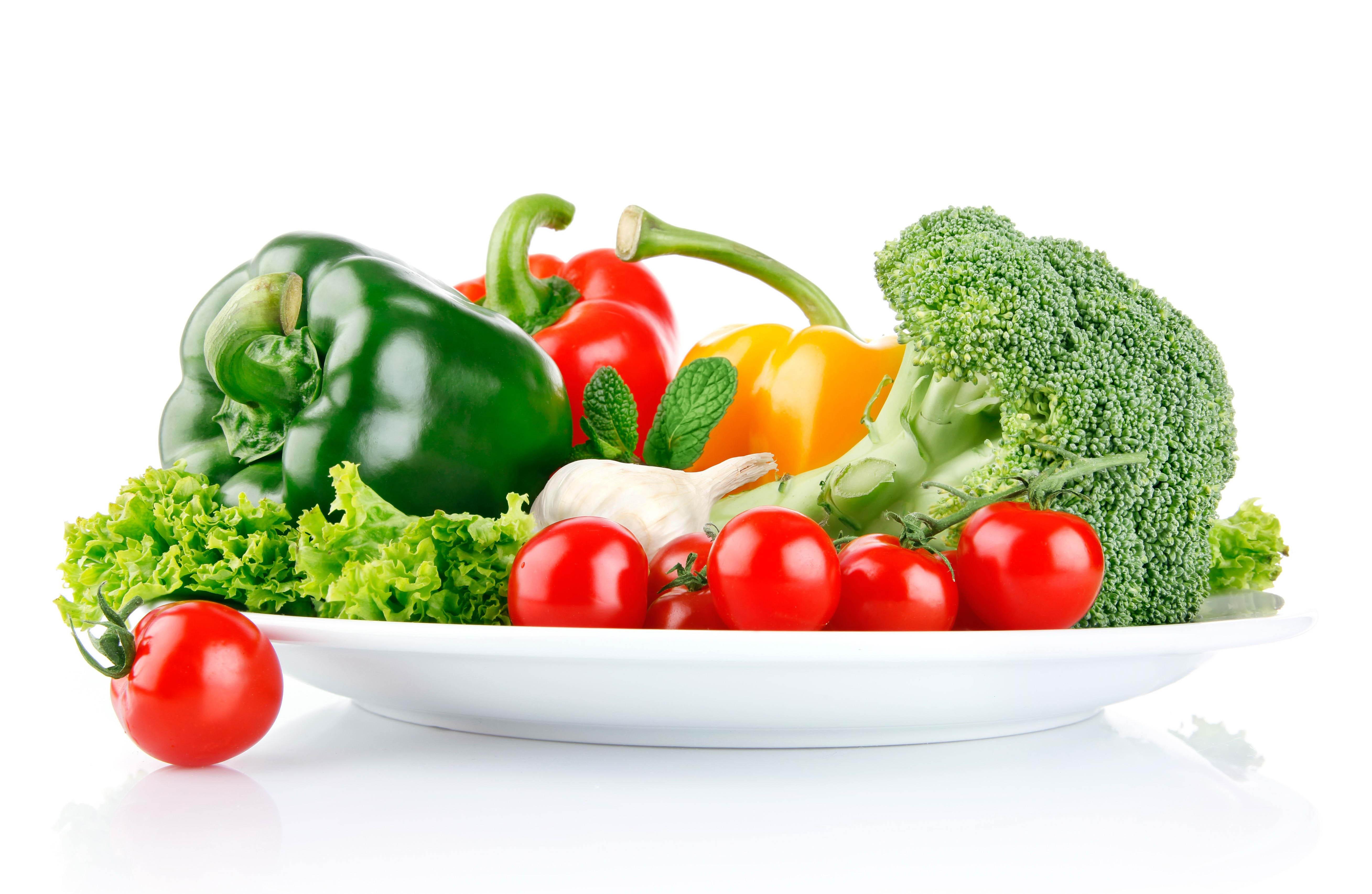 Goodfon Wallpaper Car Wallpaper Vegetables Dish White Background 5234x3412