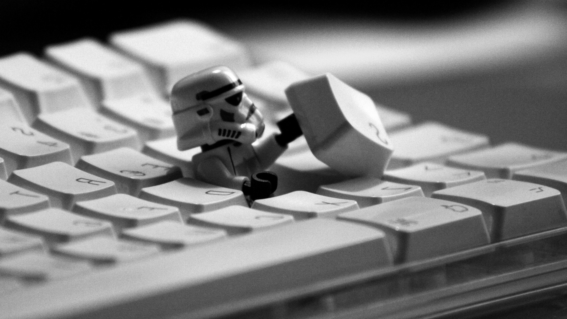 Dont Touch My Laptop Hd Wallpaper Wallpaper Star Wars Humor Lego Technology