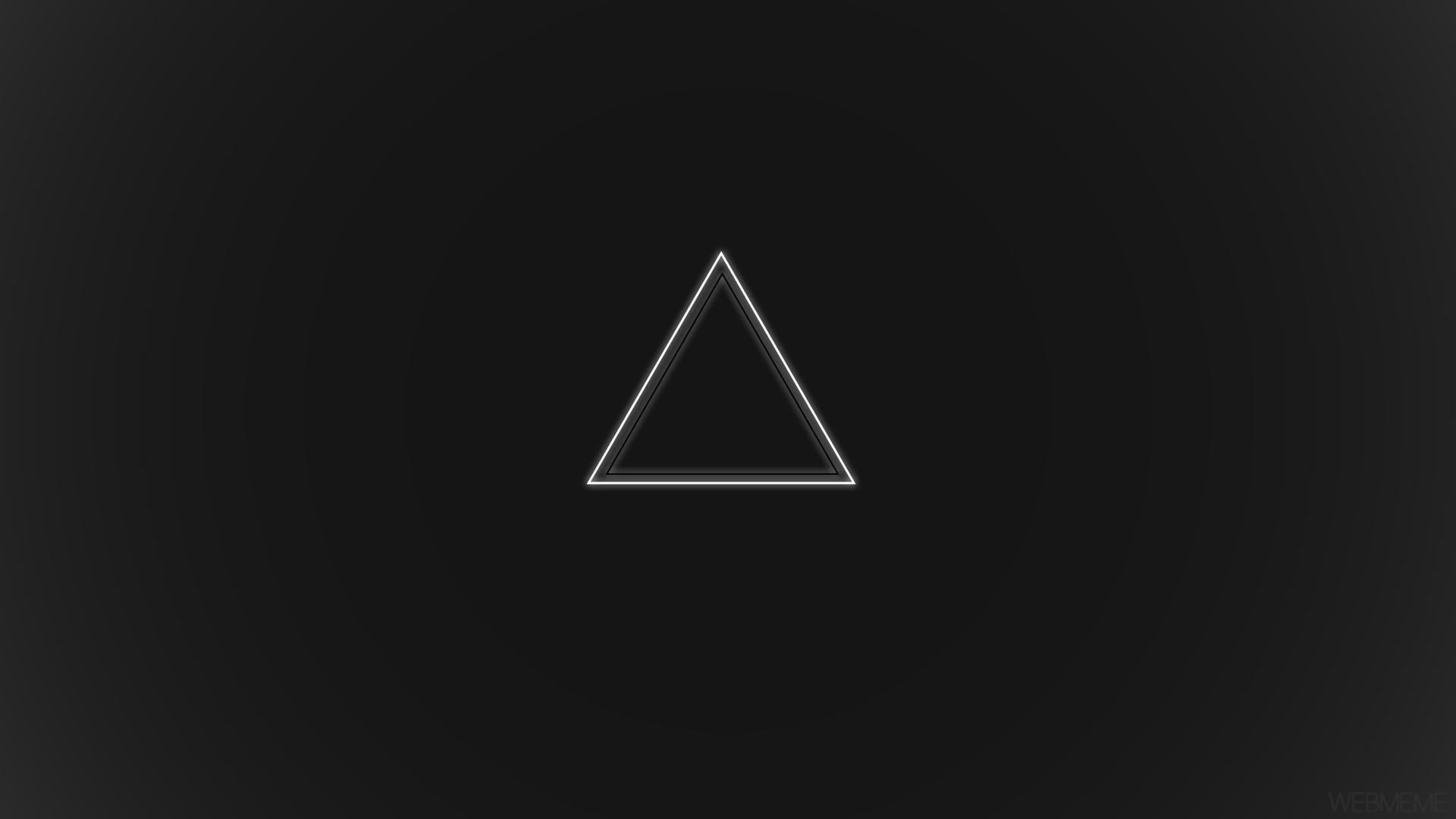 Gravity Falls Hd Wallpaper 1080p Wallpaper White Black Minimalism Logo Symmetry