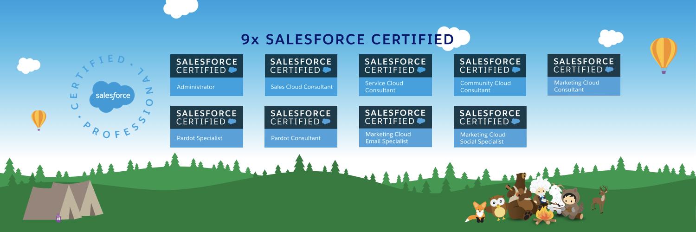 Salesforce Certified Pros Templates for Twitter - GETAWAYPOSTS