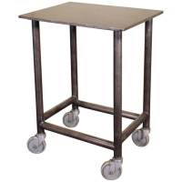 Industrial-Modern Rolling Bar Cart - Get Back, Inc.