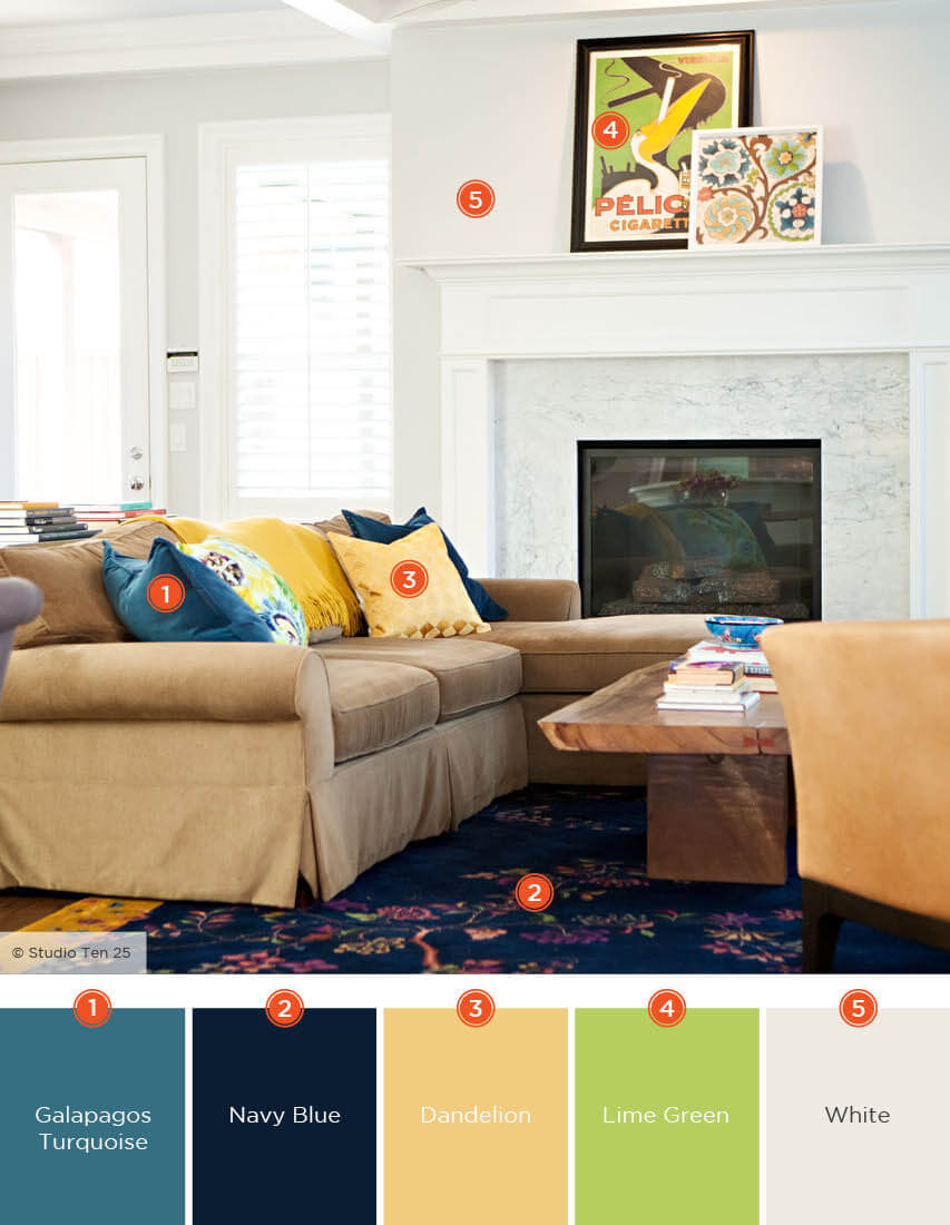 Color Schemes For Rooms 57 Living Room Color Schemes To Make Color Harmony In Yours