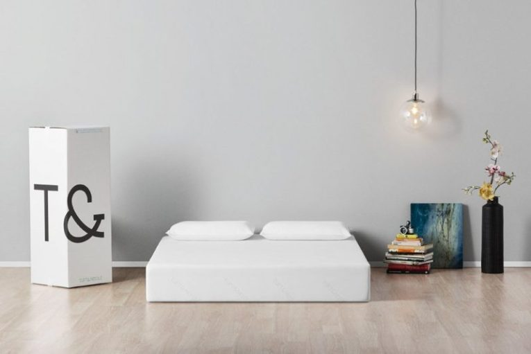 Tuft&Needle mattress in bed