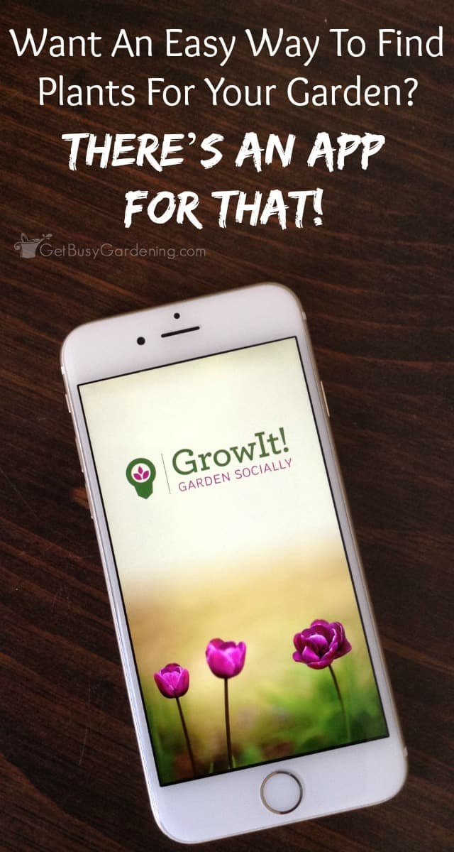 Want An Easy Way To Find Plants For Your Garden? There'S An App