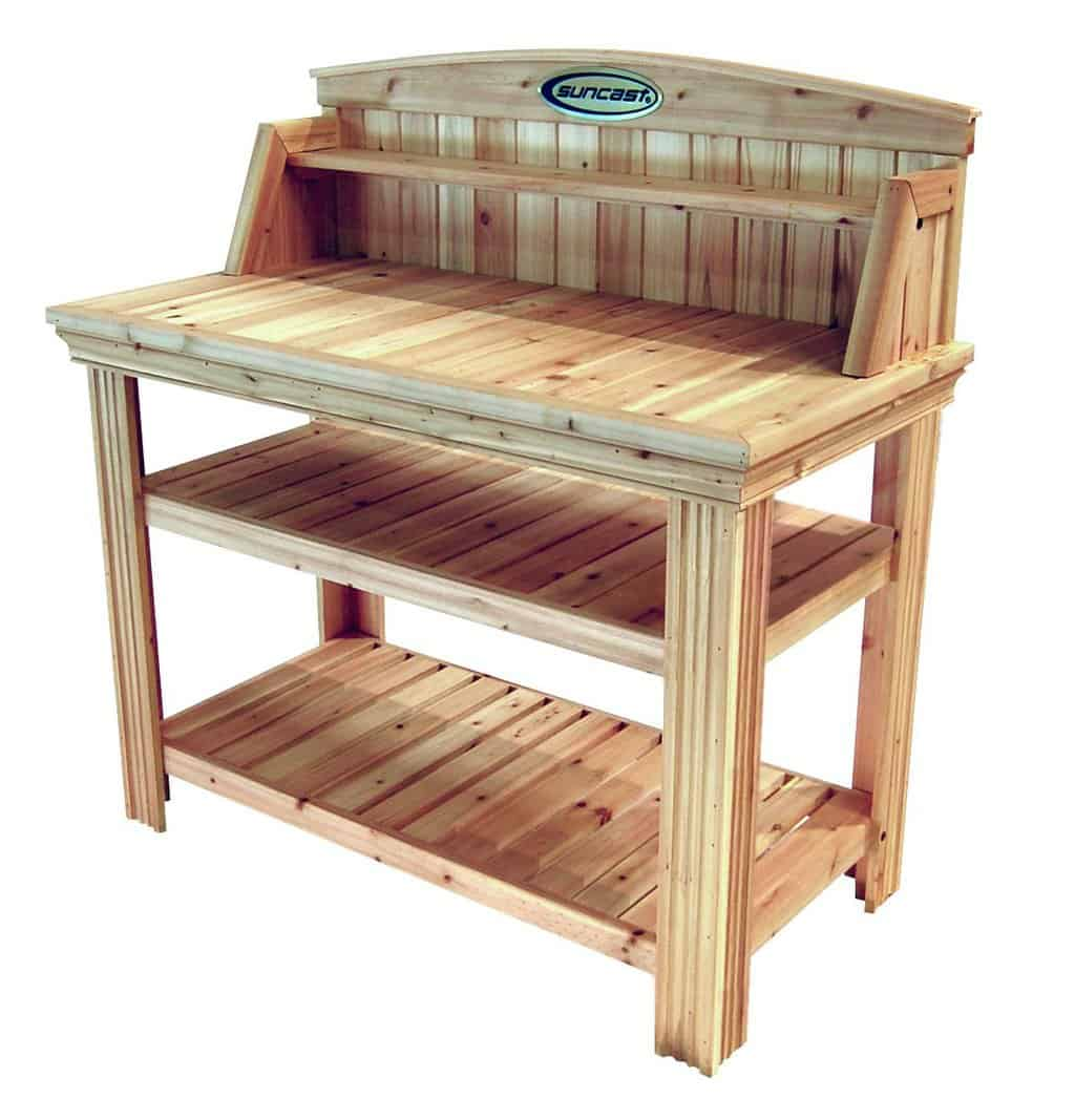 Plant Bench Indoor Cedar Potting Bench Get Busy Gardening