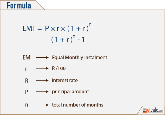 home mortgage calculation formula