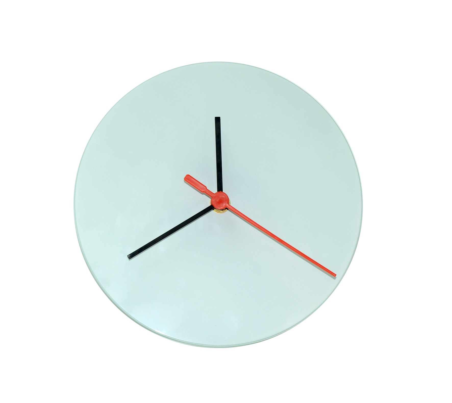 30cm 30cm Sublimation Glass Clock