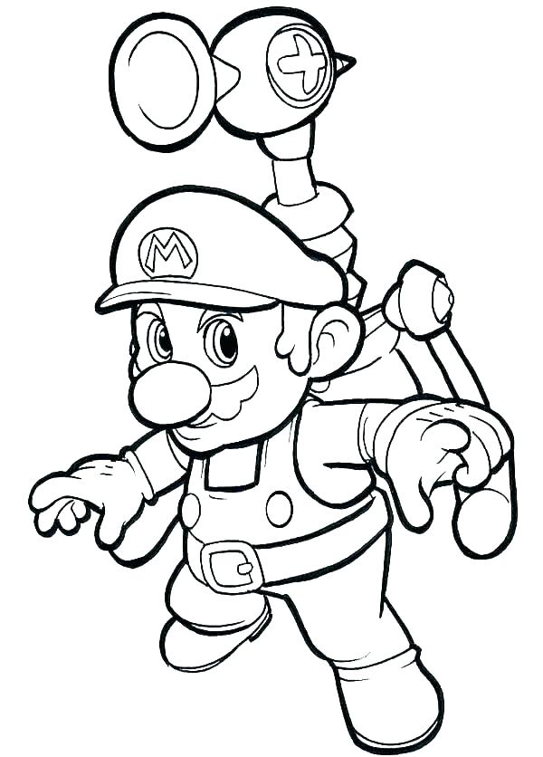 Brother Coloring Pages at GetColorings Free printable - mario coloring pages